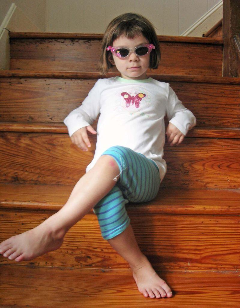 Kitty stairs sunglasses