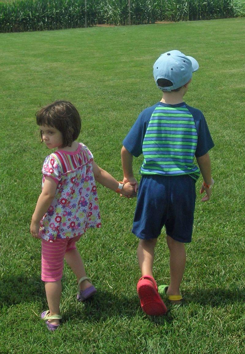 Jk holding hands