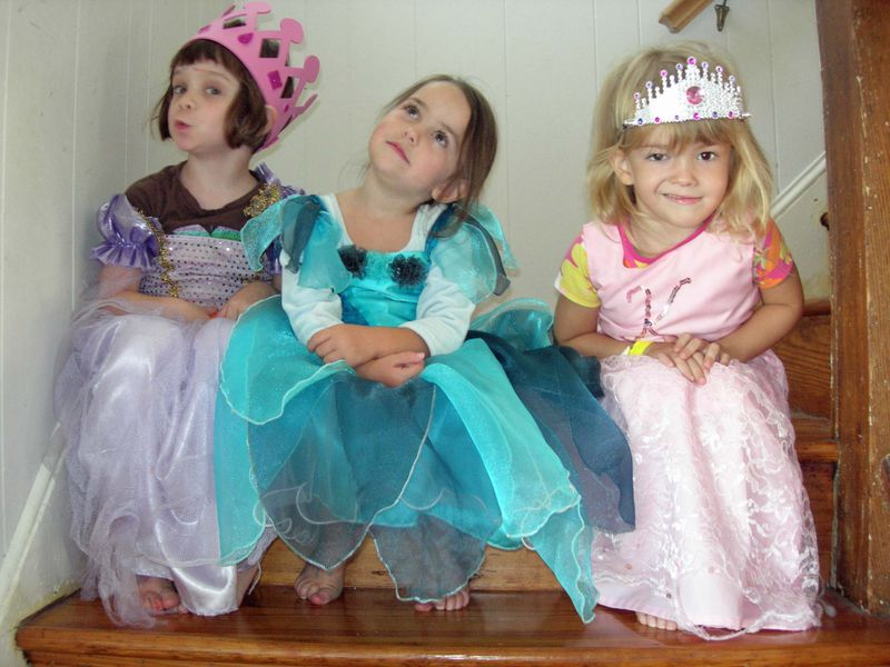 Three princesses