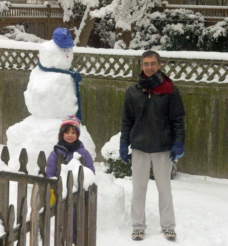 Thom kitty snowman