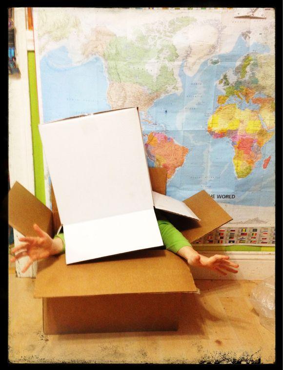 Cardboard Box, Take 2
