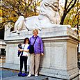 The NYC Public Library Lions